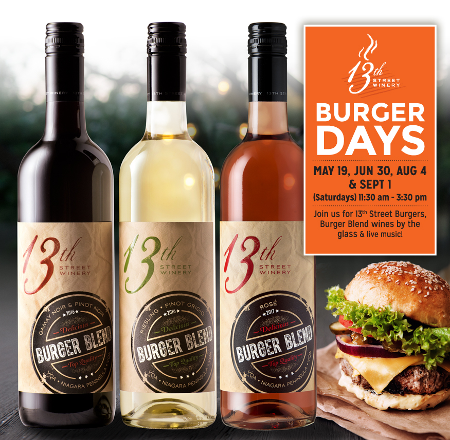 13th Street Winery Burger Days