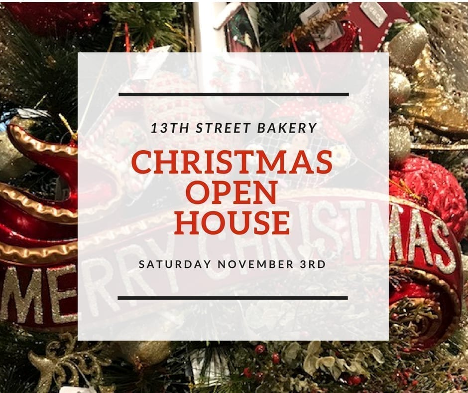 Gift shop christmas open house ideas